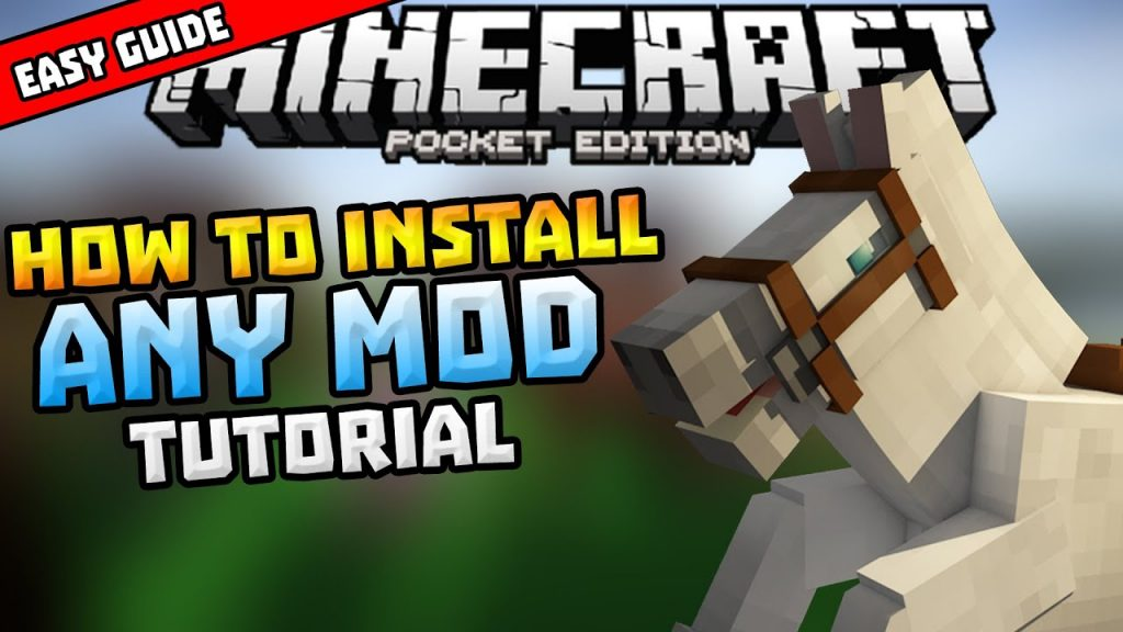How to install mods on minecraft pe ios